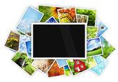 Prázdné foto — Stock fotografie