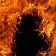 Fire closeup — Stock Photo