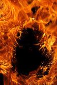 Fire closeup — Stock Photo
