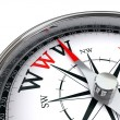 Www the way indicated by compass — Stock Photo