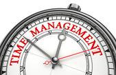 Relógio de conceito de gerenciamento de tempo — Foto Stock