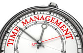 Time management concept klok — Stockfoto