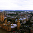 London birds eye view - Stock Photo