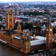 Stock Photo: London birds eye view