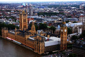 London birds eye view — Stock Photo