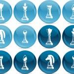 Chess pieces — Stock Vector #8186354