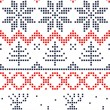 Seamless nordic pattern — Stock Vector