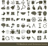 Medical icons — Stockvektor