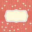 Seamless love background — Stock Vector #8636202