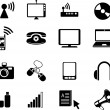 Royalty-Free Stock Photo: Media icons