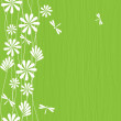 Foto Stock: Floral seamless background