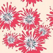 Floral naadloze achtergrond — Stockfoto