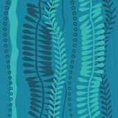 Sea weed seamless background — Stock Photo
