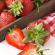 Fresh strawberries. — Stock Photo