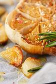 Roasted garlic close up. — Stock Photo