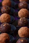 Chocolate truffle. — Stock Photo