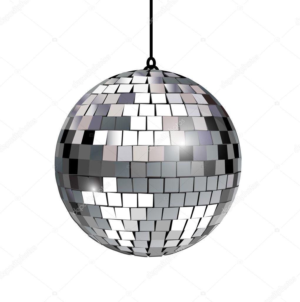 Disco ball — Stock Vector © corneliap #7980708
