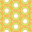 Stock Photo: Seamless abstract texture made of hexagons
