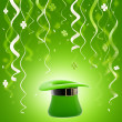 St. Patrick day colorful background — Stock Photo