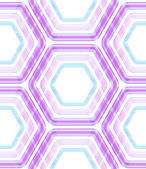 Seamless abstract texture made of hexagons — Stock Photo