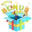 "Word ""bonus"" inside gift box — Stock Photo #10085682"