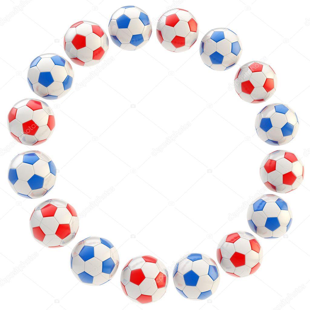 Футбол круг