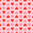 Seamless background texture made of love hearts — 图库照片 #8904102