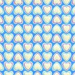 Seamless background texture made of love hearts — ストック写真 #8904177