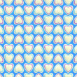 Seamless background texture made of love hearts — Stock Photo