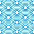 Royalty-Free Stock Photo: Seamless background texture made of hexagons