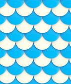 シームレスな光沢のある鱗片背景テクスチャ — ストック写真