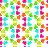 Seamless abstract background made of hearts — Stock Photo