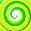 Stock Photo: Glossy twirl, whorl as abstract background