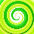 Glossy twirl, whorl as abstract background — Stock Photo #8931622
