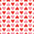 Seamless background texture made of love hearts — Stock Photo #8931824