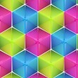 Seamless abstract colorful background — Stock Photo