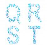 情人节一天爱字母做的心 — 图库照片