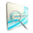Search engine optimization icon isolated — Stock Photo