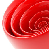 Background made of abstract plastic circles — Stock Photo