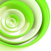 Fond fait des cercles en plastique abstraites — Photo