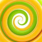 Colorful twirl as an abstract background — Stock Photo