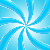 Blue twirl as an abstract background — Stock Photo