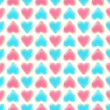 Seamless background texture made of love hearts — Стоковая фотография