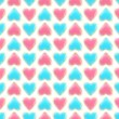 Seamless background texture made of love hearts — Lizenzfreies Foto