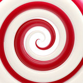 Colorful glossy twirl as an abstract background — Stock Photo