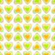 Seamless background texture made of love hearts — ストック写真 #9940097