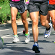 Stock Photo: Marathon Racers