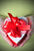 Heart in a Box — Stock Photo