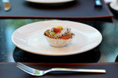 Mixed fruit tart — Stock Photo