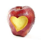 Red apple — Stock Photo